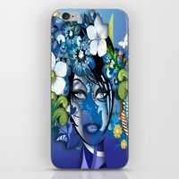 aloha iPhone & iPod Skins featuring Aloha! by Robin Curtiss