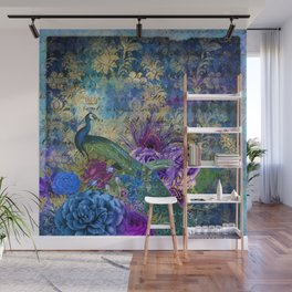 Feather Peacock 20 Wall Mural