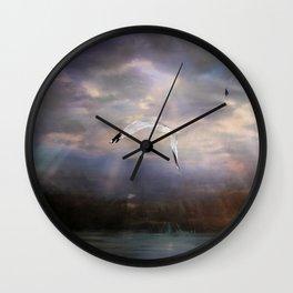 Peaceful Crossing Wall Clock