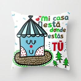 dsd Throw Pillow