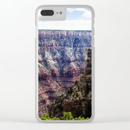Grand Canyon South Rim Clear iPhone Case