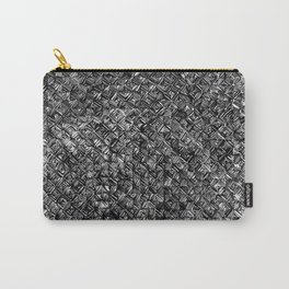 Line Texture Carry-All Pouch