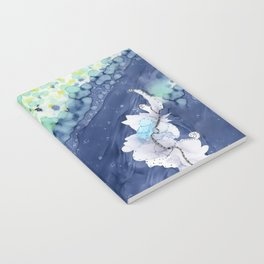 Ocean Blooms: Abstract, Nature, Spring Notebook