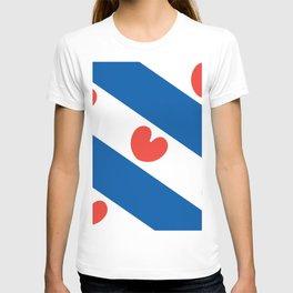 Flag of Friesland T-shirt