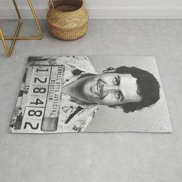 Pablo Escobar Mugshot Rug