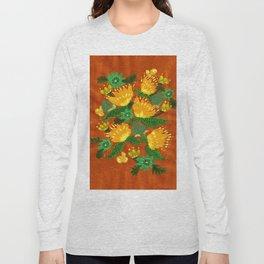 Harvest Peonies Long Sleeve T-shirt