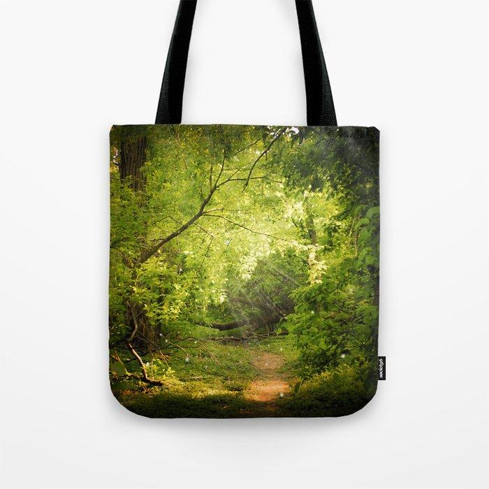 The Secret Path Tote Bag