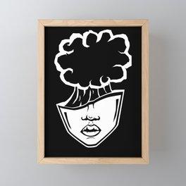 Brain Fart Framed Mini Art Print