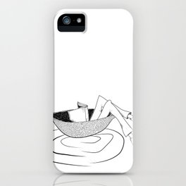 the flow of the reading! iPhone Case