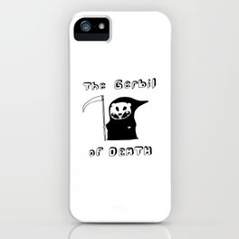 The Gerbil of DEATH iPhone Case