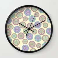 zentangle Wall Clocks featuring zentangle by Alapapaju