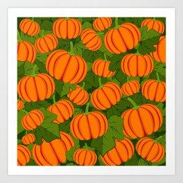 C13D Pumpkin Harvest Art Print