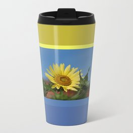 Sunflower Color Palette Travel Mug