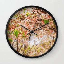 Cherry Blossom (sunny) Wall Clock
