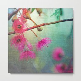 Gum Blossoms Metal Print