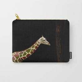 Strolling Giraffe Carry-All Pouch