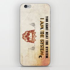 The System iPhone & iPod Skin