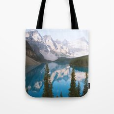 Lake Moraine Dos Tote Bag