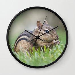 Crunch Crunch Wall Clock
