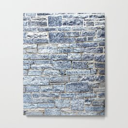 Limestone Blocks. Metal Print