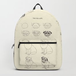How to Draw The Pug Life Backpack