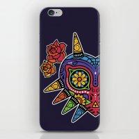 majora iPhone & iPod Skins featuring El Dia de la Majora by Marco Mottura - Mdk7