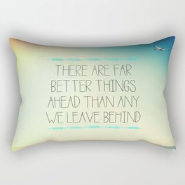Better Things Rectangular Pillow