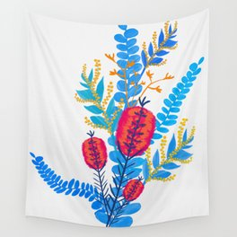 Australian Native Bouquet Wall Tapestry