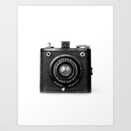 Vintage Brownie Camera Photograph Art Print
