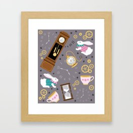 Late For The Party Framed Art Print