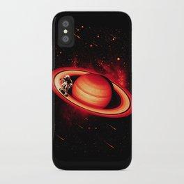 SATURN SKATING iPhone Case