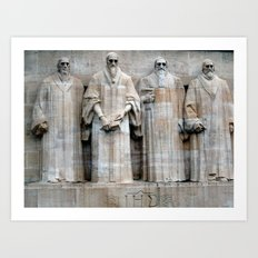 See the Truth Art Print