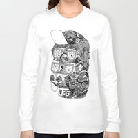 hipster Long Sleeve T-shirts featuring hipster by Jess John