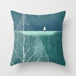 OCEAN WONDERLAND VIII Throw Pillow