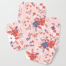 Wild Flowers III Coaster