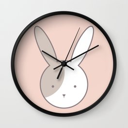 Olivia Rabbit Wall Clock