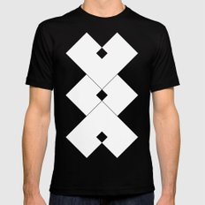 Contact MEDIUM Black Mens Fitted Tee