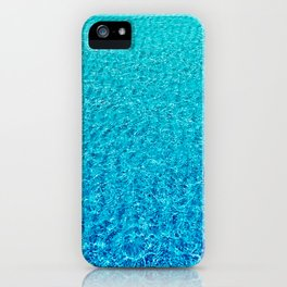 Clear Ocean Water Ripples iPhone Case