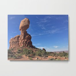 Balanced Rock - Arches National Park, Utah Metal Print