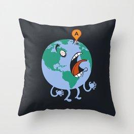 Google-Eyed Throw Pillow