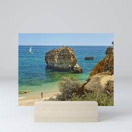 Algarve rock Mini Art Print