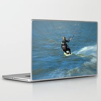 surfer Laptop & iPad Skins featuring Surfer by Laake-Photos