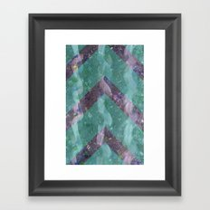 Klimt in Sea Foam Framed Art Print
