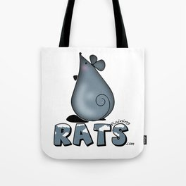 Raining Rats Rattery too Tote Bag