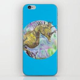 Seahorse Watercolor iPhone Skin