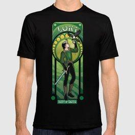 Loki and Ikol Art Nouveau style T-shirt