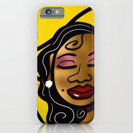 Sista Sunflower iPhone Case