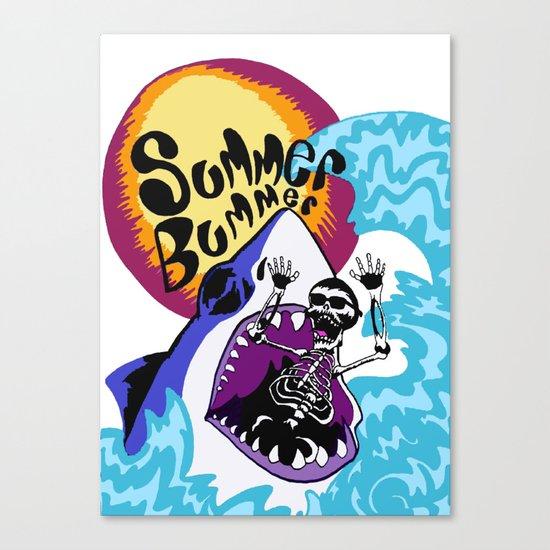 Summer Bummer Canvas Print