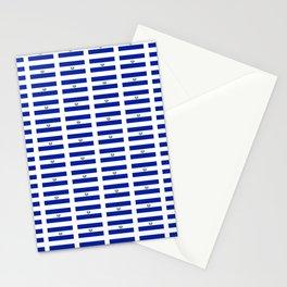 Flag of salvador 2 - salvador,Salvadoran,San Salvador,salvadoreño,Guanac Stationery Cards