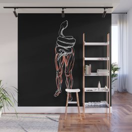 Whoops! Torso is a Snake Wall Mural